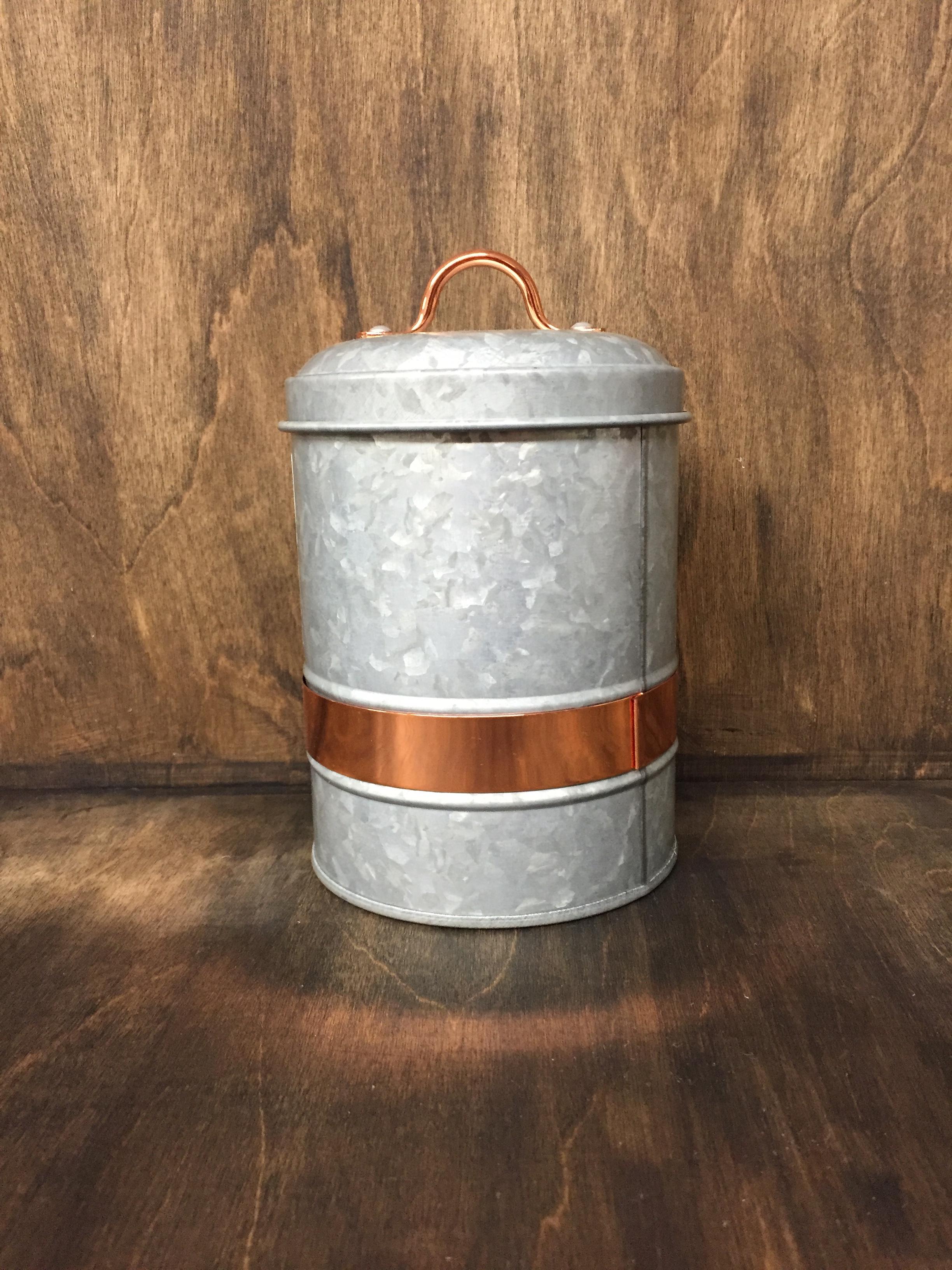 tin jar